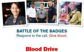 Battle of the Badges Blood Drive - City of Ramsey