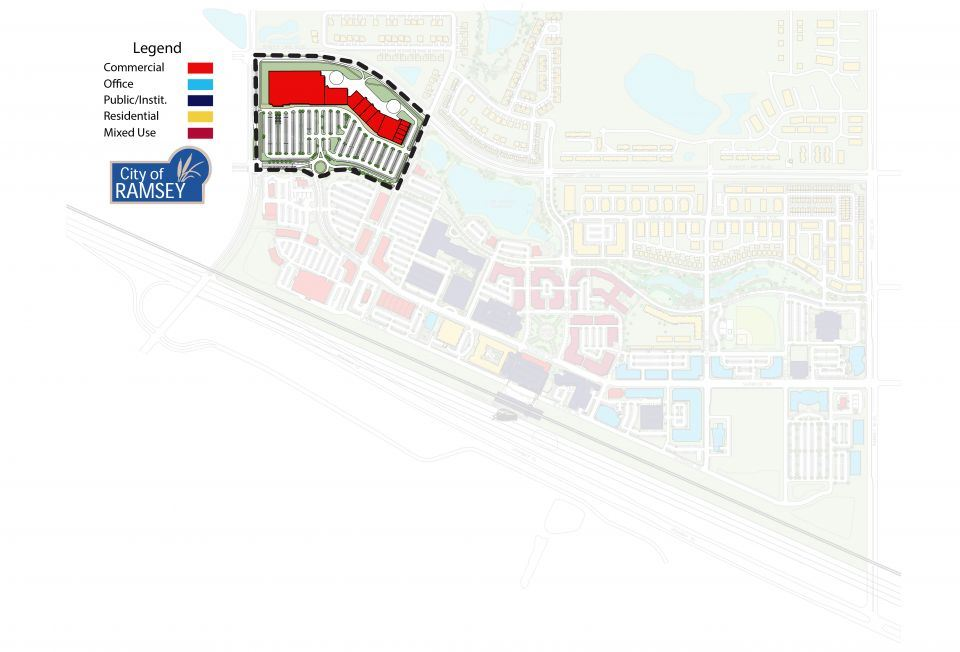 Retail District COR Site Plan