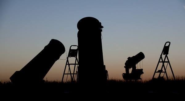 TELESCOPES  DUSK