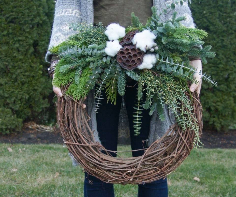 Kitchen Table Wreaths